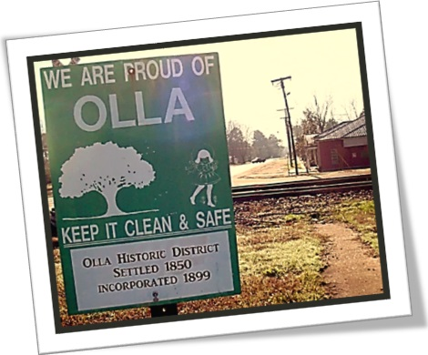 town of olla, usa, proud of olla, keep it clean and safe