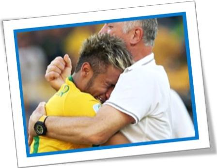 ombro amigo, a shoulder to cry on, jogador neymar, felipão