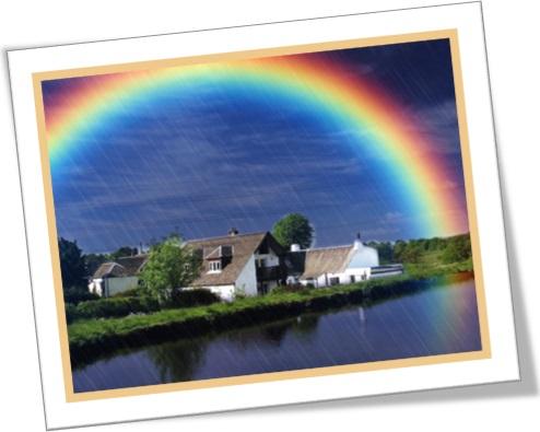 arco-íris, rainbow, chuva, sol, fazenda, fenômeno da natureza, cores