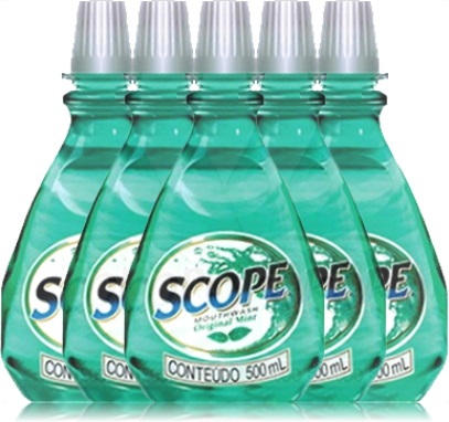 scope, mouthwash, enxaguante bucal, enxaguatório bucal