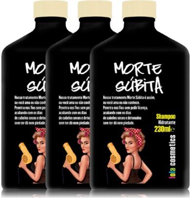 shampoo morte súbita, lola cosmetics