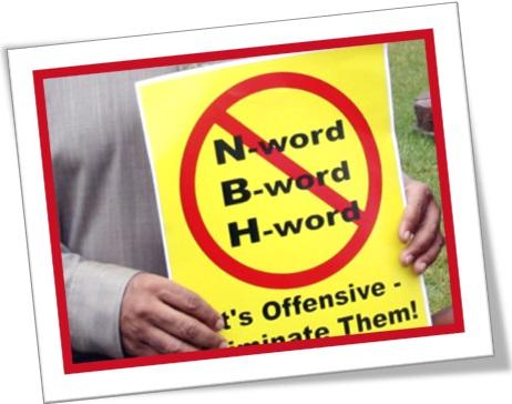 taboo words, word taboos, tabu words word tabus,n-word, b-word, h-word