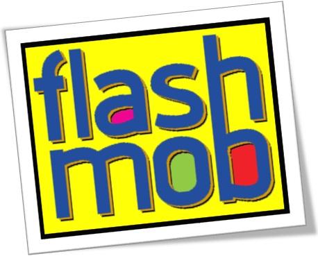 flash mob, flash mobber, flash-mob