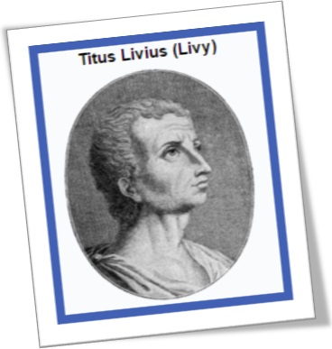historiador titus livius, livy, tito lívio