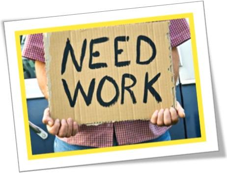 need work, preciso de trabalho, desempregado, be no picnic