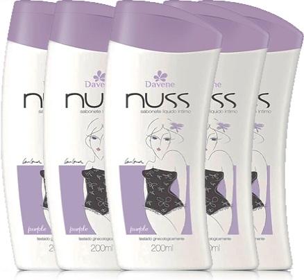 sabonete líquido davene nuss, higiene íntima da mulher