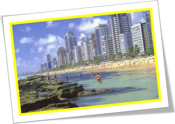 praia de boa viagem, recife, pernambuco, brasil, férias
