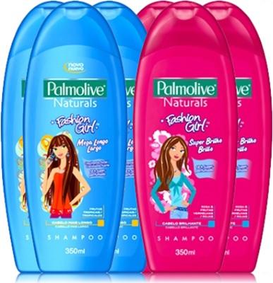 colgate shampoo palmolive naturals fashion girl mega longo e super brilho