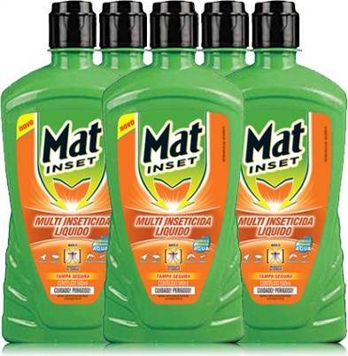 multi inseticida mat inset mata mosquitos, moscas, formigas, baratas