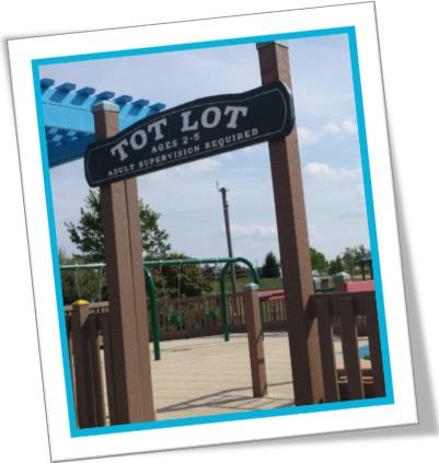 tot lot, playground, crianças, área de recreação infantil, pueril