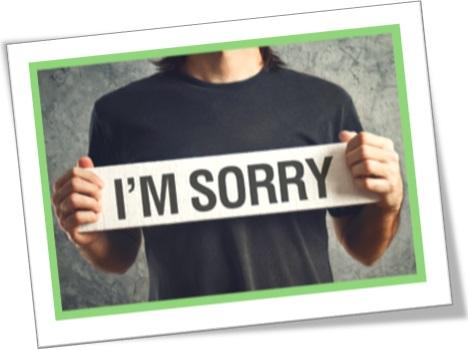 wish wash, i am sorry, conversa mole, lero-lero, texto insípido