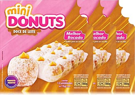 mini donuts melhor bocado sabor doce de leite