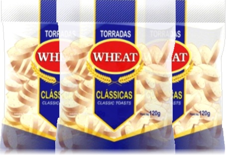 torradas wheat clássicas, tip top alimentos, lanche, café da manhã