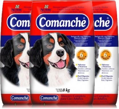 alimento, ração canina comanche nutrire, cães adultos, animal