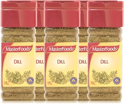 masterfoods tempero dill, endro, aneto, endrão, folhas, sementes