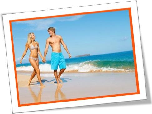 casal, homem, rapaz, mulher, moça, namorados, areia, praia