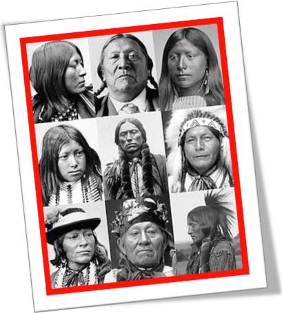 mulheres, crianças e homens comanches, povos americanos, índios