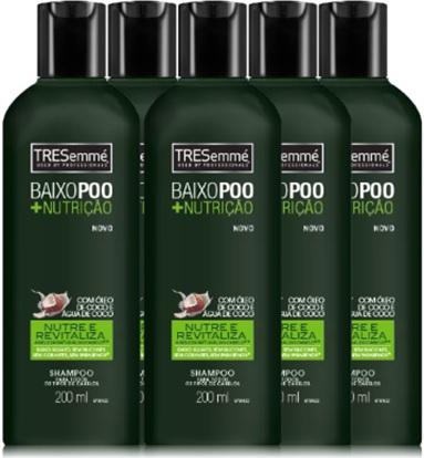 xampu, shampoo tresemme baixo poo, nutrição, cabelos
