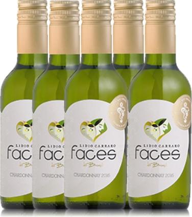vinho branco faces do brasil, chardonnay, lidio carraro, garrafa, face