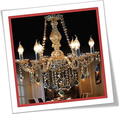 candelabro barroco contemporâneo, restaurante, contemporary baroque chandelier