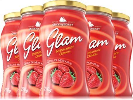 geleia de morango, queensberry, glam, frutas