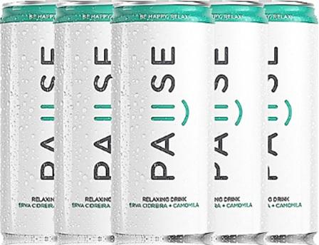 pause, bebida relaxante, relaxing drink erva cidreira camomila