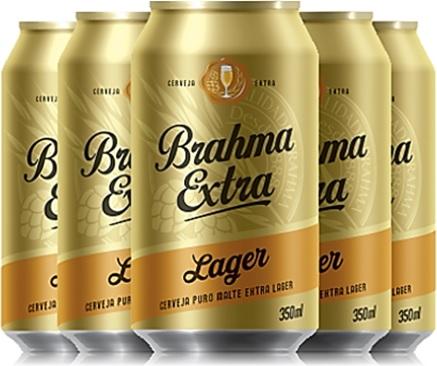 loura gelada, latas de cerveja brahma extra lager