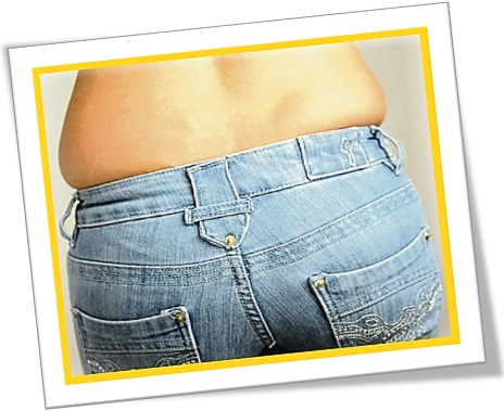 how to get rid of muffin top love handles